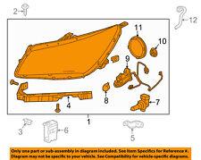 Buick GM OEM 14-16 LaCrosse-Headlight LH Assy 26672547