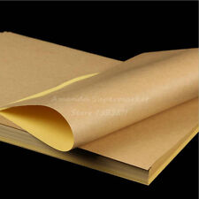 Blank Kraft Label Sticker Paper Self adhesive Paper For Laser Inkjet Printer 100