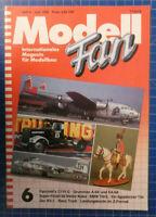 Modell Fan Heft 6 Juni 1989 Fairchild's C119 G Race Truck Z-Formate  B-25377