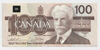 1988 $100 Bank of Canada Note Thiessen Crow EF/AU