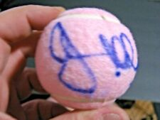 JOHN MCENROE TENNIS ICON GOAT SIGNED PINK WILSON HOPE2 TENNIS BALL LAVER CUP 20