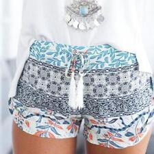 2017 Summer Womens High Waist Short Hot Pants Ladies Causal Sports Beach Shorts