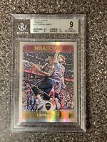 2017 Panini NBA Hoops #25 Lebron James Premium Silver Holo BGS 9 Mint Low POP