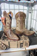 38-82 New  Justin Bent Rail MENS 11D Cafe Desperado western boots was 179.00