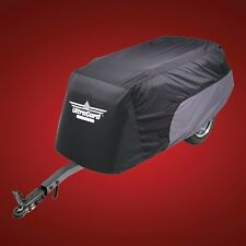 ULTRAGARD 4-491BC MOTORCYCLE TRAILER COVER BLACK / CHARCOAL