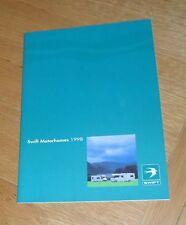 Fiat Swift Motorhome Range Brochure 1998 - Bel-Air Kon-Tiki Royale Sundance