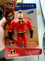 NEW DISNEY PIXAR INCREDIBLE MR INCREDIBLE POSABLE FIGURE