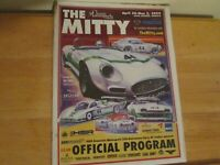 Vintage The Mitty Road Atlanta Race Program from 2009 Slightly Marred at Top