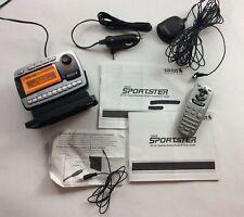 Sirius Sportster Sp-R1 Satellite Radio Receiver Dock Antenna x2 Remote Car Chgr