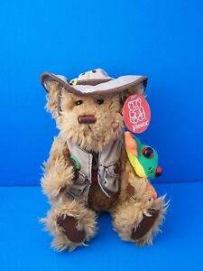 Fiesta Talking RAINFOREST RUDY Ranger 10 Teddy Bear w/Frog Plush Toy WITH TAGS!