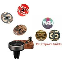 Car Auto Perfume Clip Air Freshener Phonograph Turntable Air Fresh
