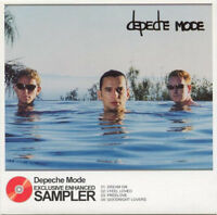 CD PROMO DEPECHE MODE EXCLUSIVE ENHANCED SAMPLER RARE COLLECTOR COMME NEUF