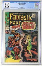 Fantastic Four #66 CGC 6.0 Marvel 1967 2-Part Origin of Him (Warlock) Begins