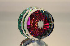 Swarovski Crystal Barrel Revolution Paperweight Vitrail Medium 7453 Nr 60 087