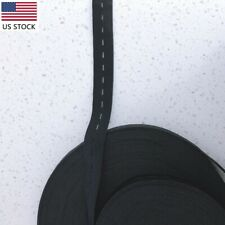Button Hole Elastic, 3/4 Inch Width, Black 31 yards. Ships from US stock!