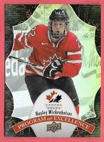 2016-17 Hayley Wickenheiser Upper Deck Team Canada Juniors Program of Excellence
