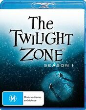 The Twilight Zone - Season 1 NEW Cult Blu-Ray 5-Disc Set Burgess Meredith