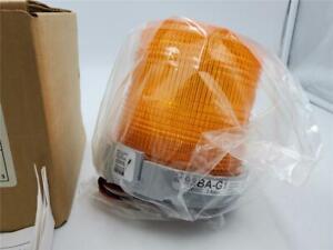 Adaptabeacon Light Duty Strobe Light Orange 98BA-G1 24VDC