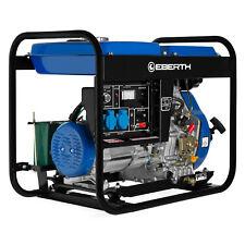 Eberth 5kw Groupe Électrogène Diesel generateur electrique E-start 1-phase 10 CV