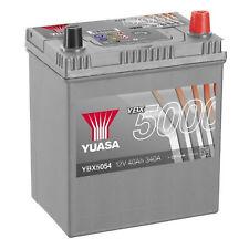 Yuasa YBX5054 12V Silver 054 Series Car Battery 40Ah 340A