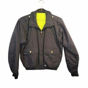 Blauer 6045 Ansi 107 Reversible Reflective Jacket Mens Size S