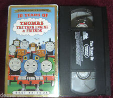 Thomas The Tank Engine & Friends VHS Train 10 Years of Best Friends 1999 Carlin