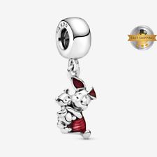 Disney Piglet Winnie the Pooh Dangle Charm For  Bracelet, Birthday Gift