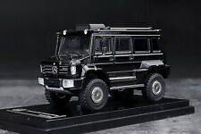 GLM 1/64 Scale Mercedes Benz Unimog U5000 SUV Black 2012 Diecast Car Model
