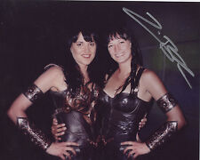 Xena photo photograph autographed signed Zoe Bell body double stuntwoman COA