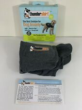 New listing Thundershirt Dog S Small 15-25lbs Solid Gray Best Solution for Anxiety Euc