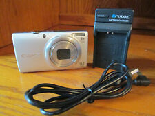 Canon A4000.16.MP Digital Camera Silver With Battery Charger SD Card