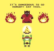 Nintendo Nes Snes TMNT Ninja Turtles Legend of Zelda Game Art Fridge Magnet  #1