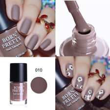 9ml Matte Dull Nail Polish Matt Nail Art Varnish Manicure Decor Born Pretty Tool