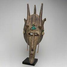 A091 - MASQUE BAMBARA, BAMBARA MASK, ART TRIBAL PREMIER AFRICAIN