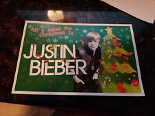Justin Bieber Christmas Postcards