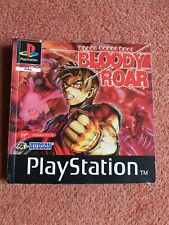 Bloody Roar Playstation 1 PS1 MANUAL ONLY