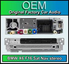 BMW X6 SAT NAV ESTÉREO, F16 reproductor de CD, navegación por satélite, radio DAB