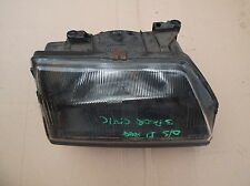 HONDA CIVIC 3DOOR DRIVER'S SIDE HEAD LIGHT UNIT 1987 D REG GENUINE HONDA PART