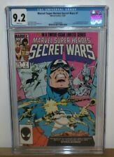 MARVEL SUPER HEROES SECRET WARS #7 CGC 9.2 First Spider-Woman