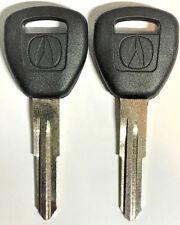 Set of 2 Acura HD106 Transponder Key CL MDX NSX RSX RL TL1999-2005 USA Seller