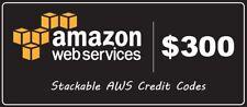 AWS Amazon $300($150×2) Credit Code Web Services promocode EC2 EDU RDS 2020