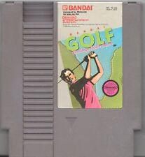 Video Game - Nintendo NES BANDAI GOLF CHALLENGE PEBBLE BEACH Cartridge
