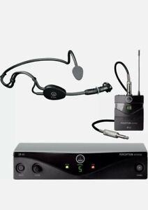 WMS45 WIRELESS SPORT SET (BAND D) Akg Wireless Mic , Beltpack , Headband , Ch70