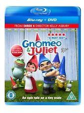 Gnomeo & Juliet [Blu-ray + DVD] [2011] [James McAvoy,  Emily Blunt] Brand New