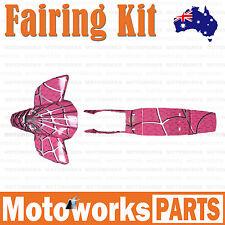 Plastics Guards Fenders Fairing Kit 47cc 49cc Mini Kids Quad Dirt Bike PINK 001