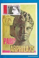 PARIS ARPHILA    Carte Postale Maximum FDC Yt C 1833