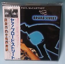 Paul McCartney Give My Regards To Broad Street nur Japan Mini LP CD NEU Beatles