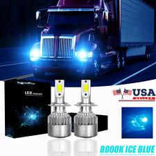 LED Headlight Light Bulb Conversion Kit for Low Beam WESTERN STAR 5700XE 2016-18