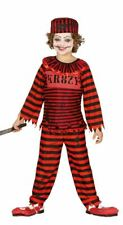 Chicos Psycho Asesino Payaso Horror Halloween Traje FANCY DRESS COSTUME CHILDS