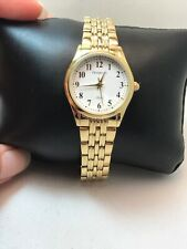 ARMITRON Women's WATCH 75/5304WTGP Easy To Read Dial Gold-Tone Bracelet H79